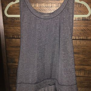 Dark grey cropped tank Lululemon